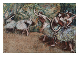 Ballet Scene  about 1907