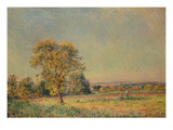Summer Landscape with Large Tree  1886