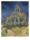 The Church at Auvers-Sur-Oise  1890