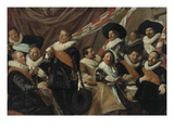 Feast for Officers of the St George Riflemen Guild in Haarlem  1627