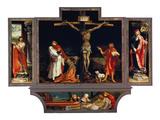 Isenheimer Altar Erste Schauseite  Totale: die HllAntonius Und Sebastian