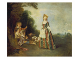 The Dance (Or: Iris)  about 1719