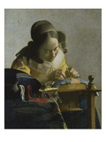 The Lacemaker  about 1665