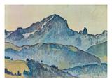 Le Grand Muveran (Berner Alpen)  1912