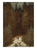 Hunter in the Forest  about 1813/1814