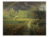 Spring Landscape with Rainbow (Le Printemps)  1868/73