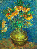 Crown Imperial Fritillaries in a Copper Vase  1886