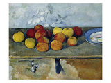 Still-Life with Apples and Cookies  1879-82