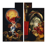 The Resurrection of Christ andAnnunciation fromLeft and Right Wing ofIsenheim Altarpiece