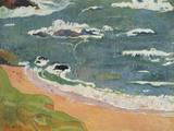 Beach at Le Pouldu  1889