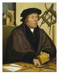 Portrait of Nikolaus Kratzer  1528