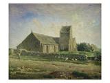 The Church at Gréville  1871/1874