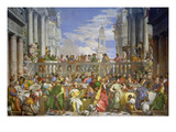 The Marriage Feast at Cana  about 1562/63
