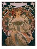 Plakatgestaltung (Urspruenglich Fuer F Champenois  Jedoch Ohne Firmeneindruck)  1897