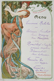 Moet and Chandon Menu  1899