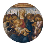 Madonna with Child and Singing Angels  about 1477