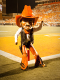 Oklahoma State University: Pistol Pete Cheers on the Cowboys