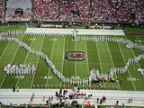 University of South Carolina: the South Carolina Marching Band Performs in Williams-Brice Stadium