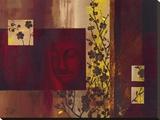 Buddha III Tableau sur toile par Verbeek & Van Den Broek