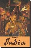 Ajanta, India, c.1959 Tableau sur toile