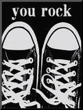 You Rock Black Sneakers