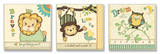 Lion  Monkey  Owl Inspiration Kids Trio