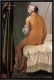 La Baigneuse de Valpinçon,1808 Tableau sur toile encadré par Jean-Auguste-Dominique Ingres