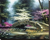 Dogwood & Waterlilies
