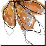 Orange Petals Tableau sur toile par Jan Weiss