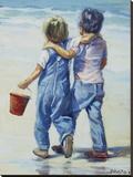 Beach Boys, The Tableau sur toile par Lucelle Raad