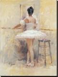 Ballet Barre Tableau sur toile par Richard Judson Zolan