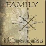 Familles Tableau sur toile par Karen J. Williams