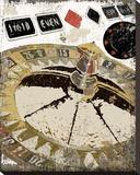 Roulette Tableau sur toile par Karen J. Williams