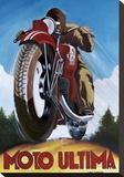 Moto Ultima Tableau sur toile par Chris Flanagan