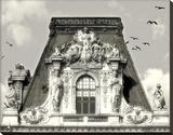 Louvre Tableau sur toile par Judy Mandolf