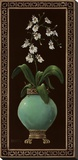 Ginger Jar With Orchids I Tableau sur toile par Janet Kruskamp
