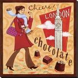 English Chocolate Tableau sur toile par Jennifer Brinley