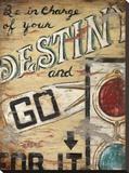 Le Destin, en anglais Tableau sur toile par Janet Kruskamp