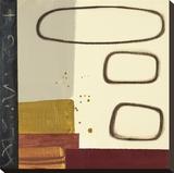 Calculated Dream (alternate color) Tableau sur toile par Maria Lobo