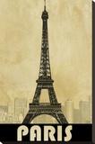 Paris Tableau sur toile par Kay Daichi