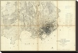 City of San Francisco and Its Vicinity  California  c1859