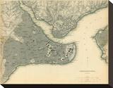Istanbul, Turkey, c.1840 Tableau sur toile