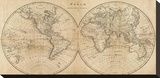 The World  c1825