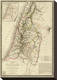Palestine sous la Domination Romaine, c.1828 Tableau sur toile par Adrien Hubert Brue