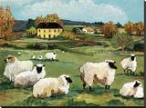 Lambs on Green Hill