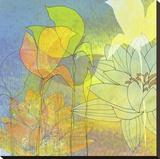 Lily Shadows Tableau sur toile par Jan Weiss
