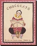 Chocolats Tableau sur toile par Katharine Gracey