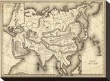 Map of Asia  c1839