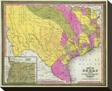 Map of Texas  c1846