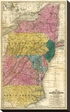 Map of the Middle States  c1839